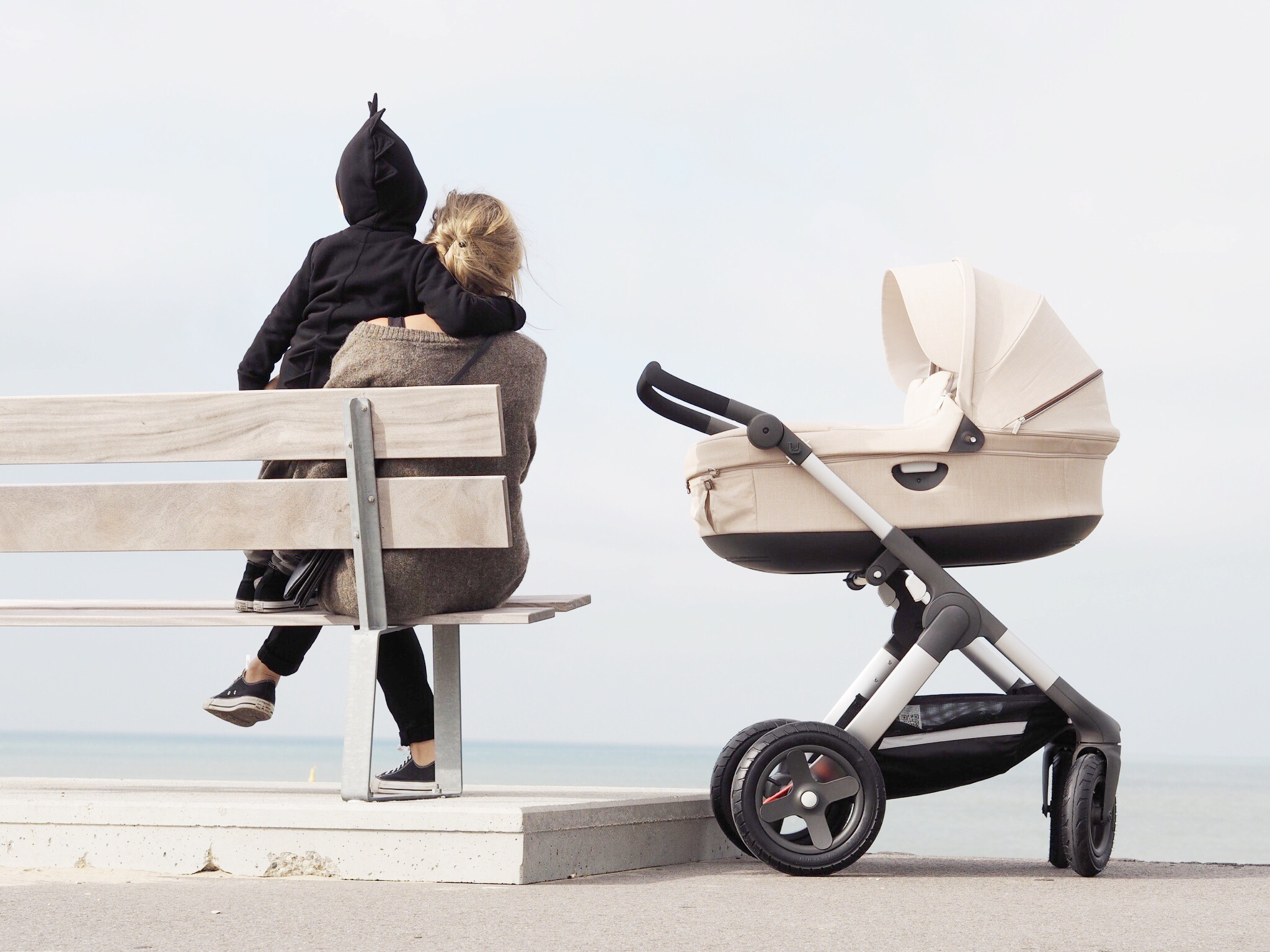 Modern and Scandinavian Designed All Terrain Stroller for Baby and
